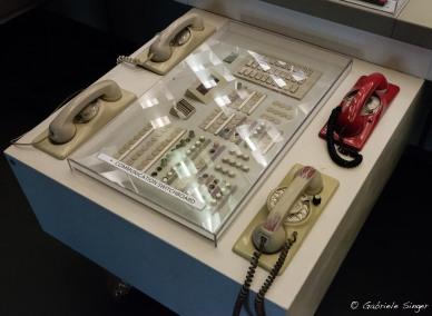Das rote Telefon zum Bundeskanzleramt